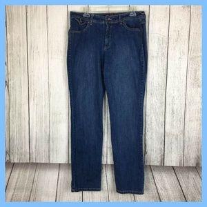 Gloria Vanderbilt Missy Denim Blue Jeans Sz 14